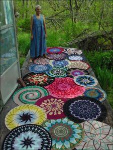 flores alfombra