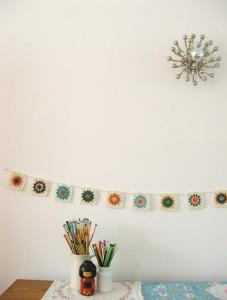 flores decorativas ganchillo