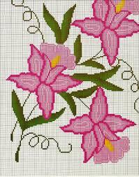 flores punto cruz 2