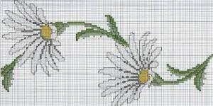 flores punto cruz 6