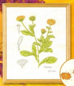 flores punto cruz album 2