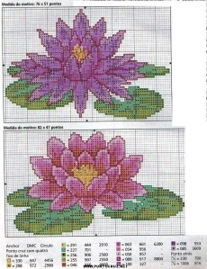 flores punto de cruz 8