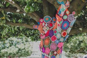 ganchillo árbol