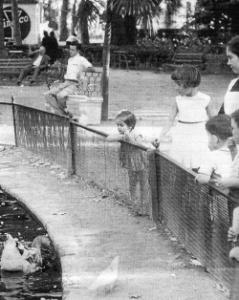 jardines de la Victoria 1958
