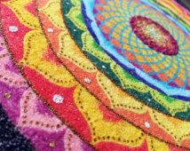 mandala alfombra