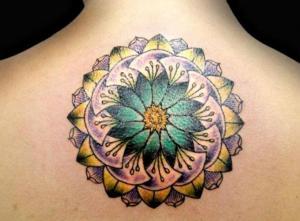 mandala tatuado