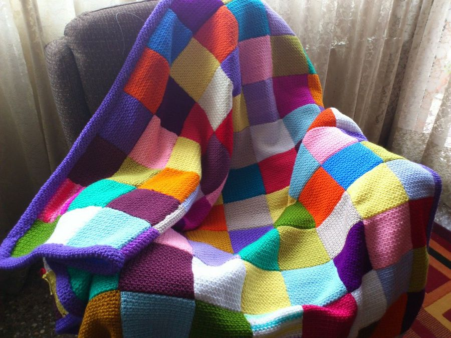 Mantas sof creciendoentreflores - Mantas de ganchillo para sofas ...