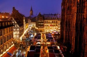 mercadillo navidad estrasburgo