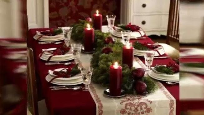 Navidad i las flores y plantas m s representativas de - Decoracion de mesa navidena ...