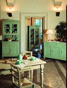 muebles pintados alacenas 2