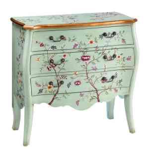 muebles pintados cómodas