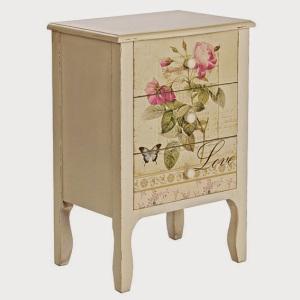 muebles pintados mesillas 3