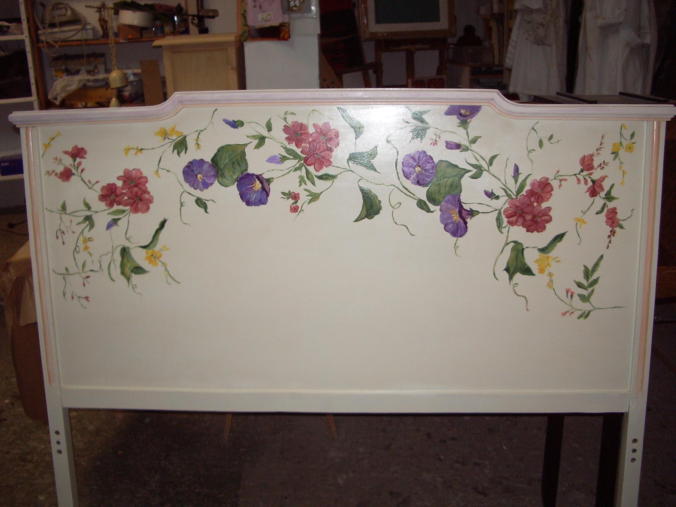 Muebles Pintados A La Tiza Y Decorados