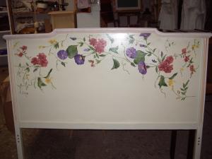 muebles pintados piecero