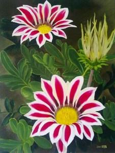 pinturas-de-flores-modernas-,