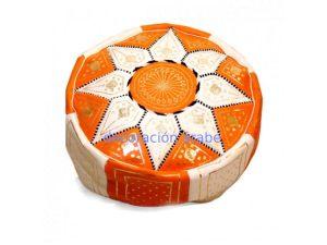 puf-árabe-naranja