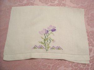 punto cruz toallas