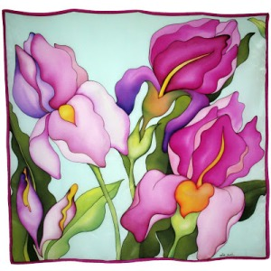 166al Lirios rosas FA