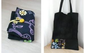 bolsa plegable para la compra