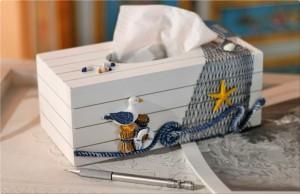 caja cleenex marinera