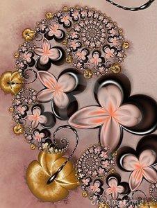 caramelo-con-las-flores-del-chocolate-10534199