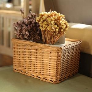 cestos flores secas