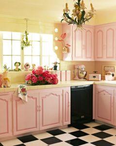 cocina rosa