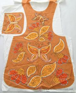 costura delantal original