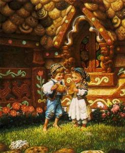 cuentos hansel y gretel