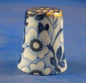 dedal flor azul