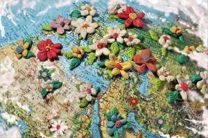 flores plastilina