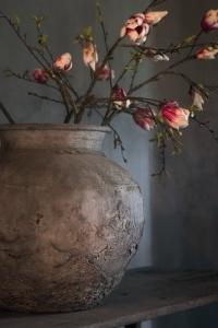 flores tinaja