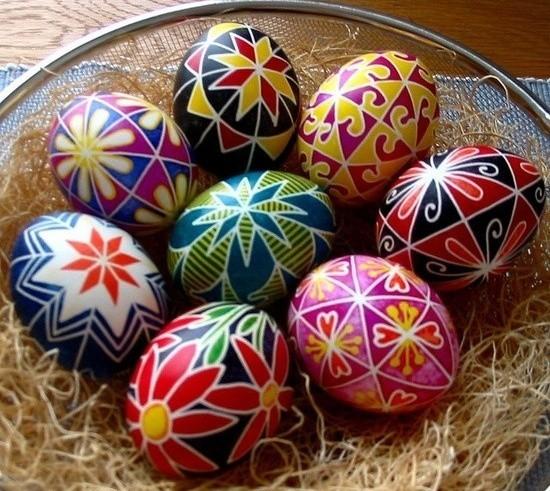 Huevos de pascua creciendoentreflores - Huevos decorados de pascua ...