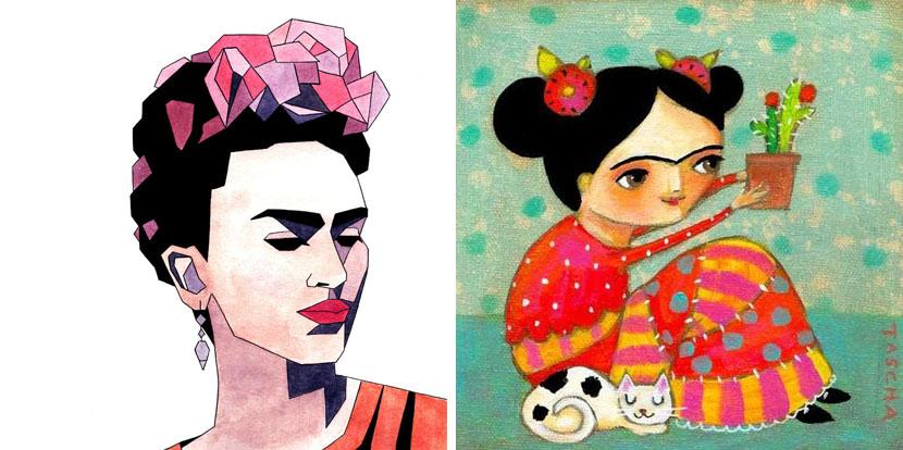 Flores En La Pintura (VI) : Las Flores De Frida