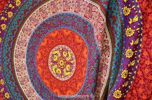 Indio-Mandala-colgante-de-pared-Hippie-tapiz-bedsheet-psicod&eacute