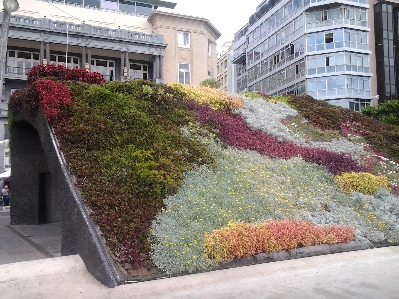 Jardines verticales creciendoentreflores - Estructura jardin vertical ...