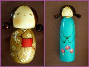 Kokeshi Dolls, Collage 08111 (3)