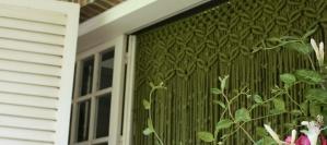 macramé cortina