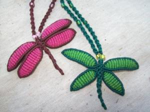 macramé mariposas