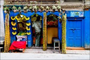 mercados fruta katmandú
