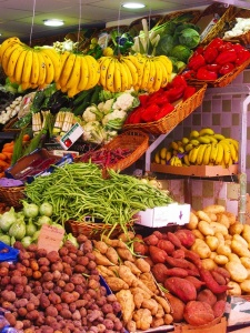 mercados fruta tenerife