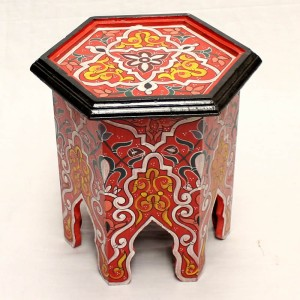 mesa-de-noche-exagonal-marroqui