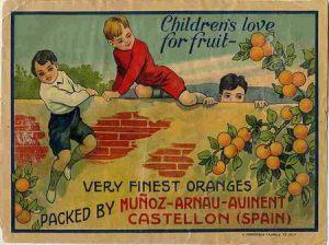 naranjas infantil