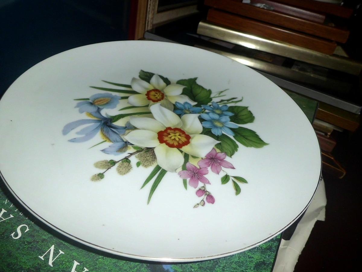 Viajando por el mundo iv limoges flores de porcelana for Platos porcelana
