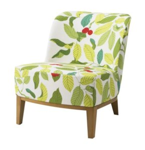 sillón hojas