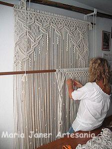 tapiz macramé