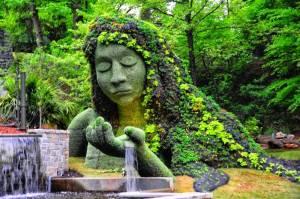 atlanta botánico mujer