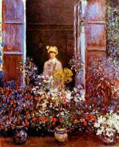 Claude+Monet+-+Camille+Monet+at+the+Window+
