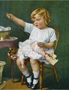 coser niña 3