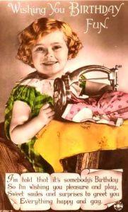 coser niña 5